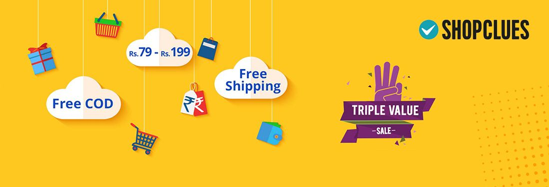 shopclues shopping offers